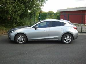 Mazda 3 Seitenansicht