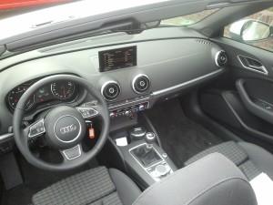 Audi A3 Cabrio Interior