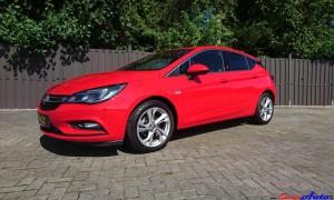 Opel Astra K Seite