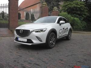 Mazda CX-3 weiß vorne