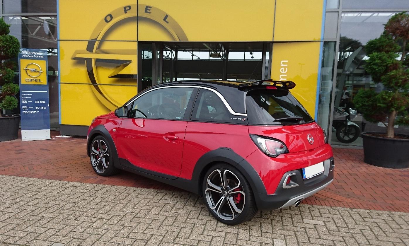 Opel Adam Rocks S Mini Crossover Mit Dem Gewissen S Emotionauto